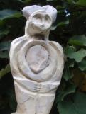 """""""Femme de pierre""""  Volume de papier et de pierre"""