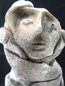 """""""Homme des sables"""" (céramique)"""