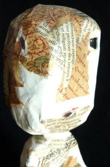 """Petite cervelle"" Collage"