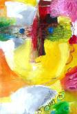 """""""Marthe"""" Huile sur papier (16 / 24 cm)"""