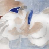 """A ferler"" Aquarelle (24 / 15 cm)"